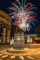 Adler Journalism Building, Fine Art, Fireworks, Fourth of July, Iowa, Iowa City, Photography, University of Iowa
