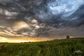 Cedar County, Iowa,  Storm,