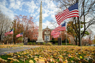 Veteran's Day in a Small town