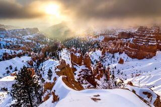 New Year's Sunrise- Bryce Canyon