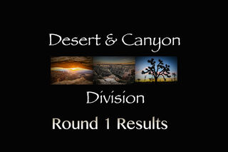 Desert & Canyons Division- Round 1 Results