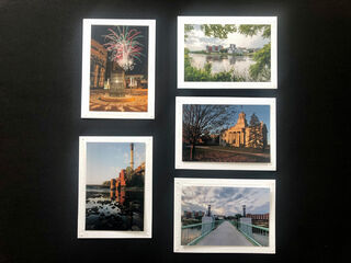 Limited Time Special: 5 Pack Note Cards- Iowa City #1