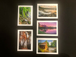 Limited Time Special: 5 Pack Note Cards- Iowa State Parks #3