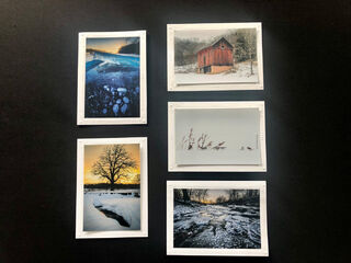 Limited Time Special: 5 Pack Note Cards Iowa Winter