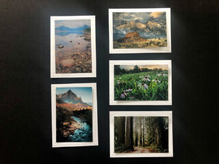 Limited Time Special: 5 Pack Note Cards- National Parks #2