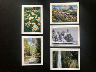 Limited Time Special: 5 Pack Note Cards- Scenic U.S. #1