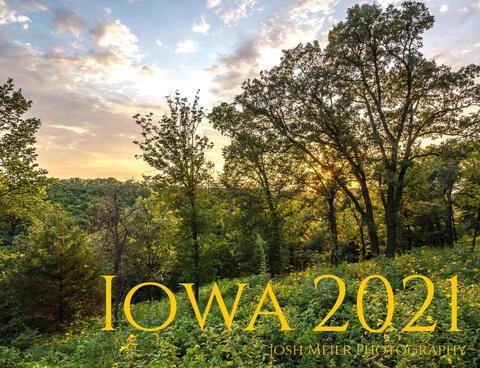 2021 Iowa Calendar