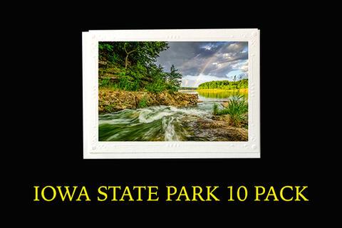 Iowa State Park 10 Pack