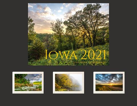 2021 Iowa Calendar + Card Package