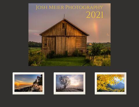 2021 US Calendar + Card Package