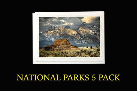 National Parks 5 Pack