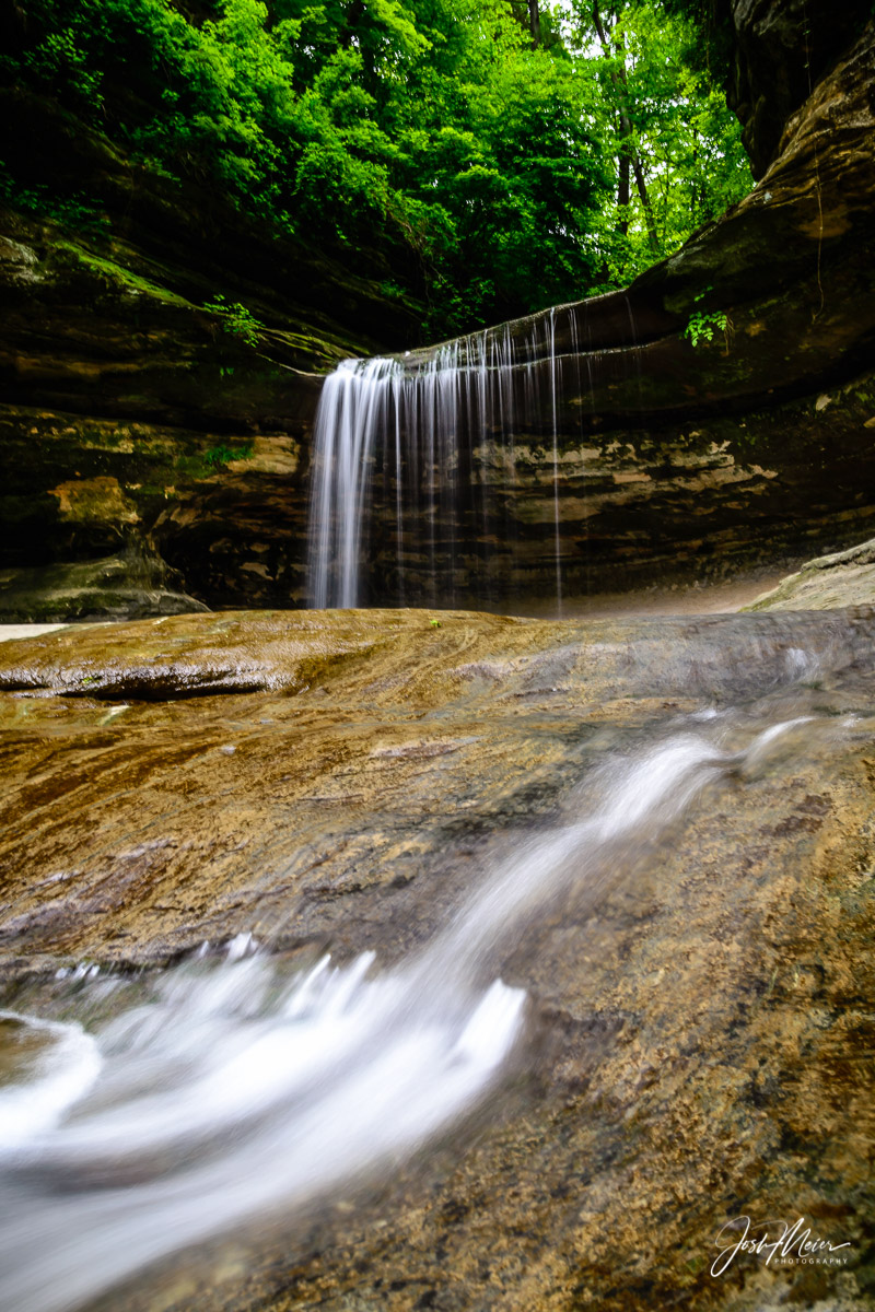 Starved Rock State Park, LaSalle Canyon, waterfall, Chicago, Midwest, hiking, Illinois, scenic, photo