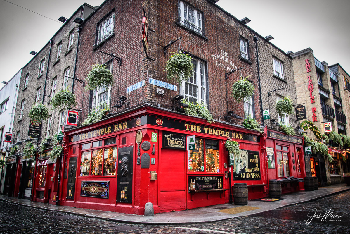 The Temple Bar, on the street and neighborhood of the same name, is a well-known landmark of the Dublin pub scene. Established...