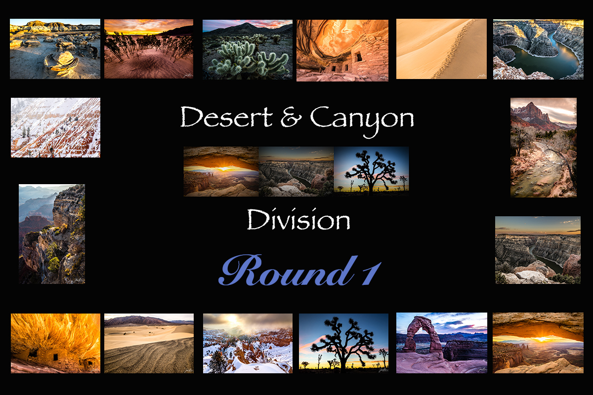 Desert & Canyons Division- Round 1