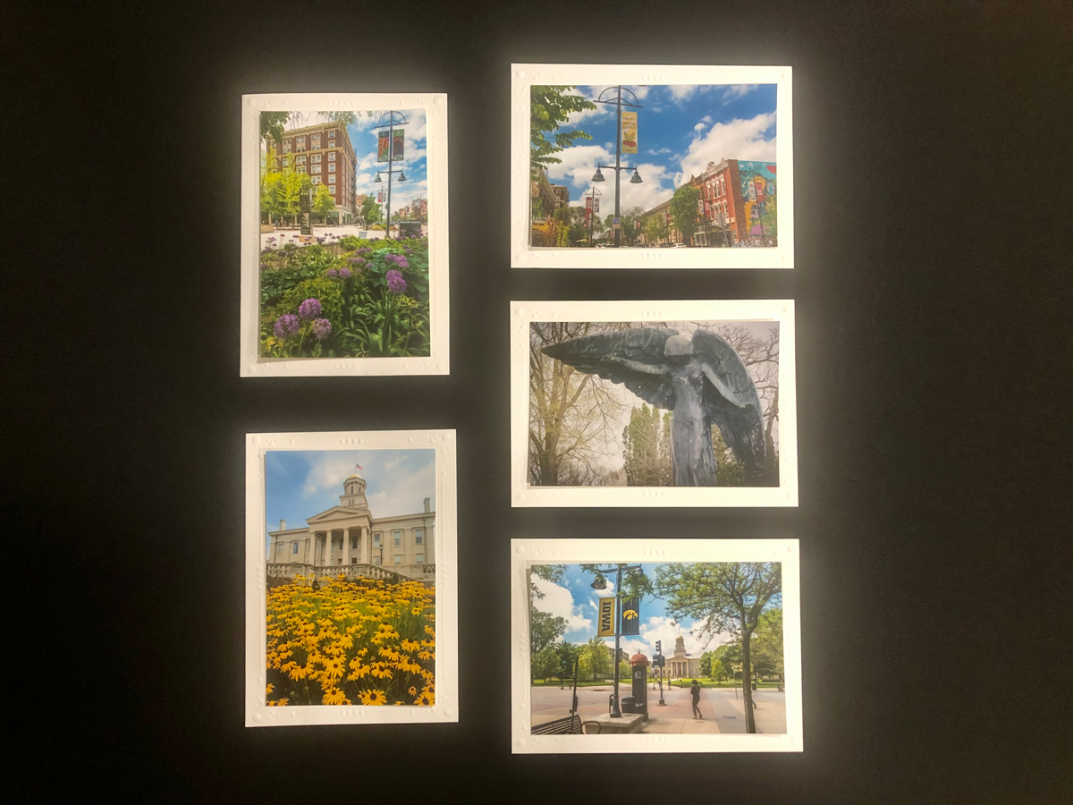 Limited Time Special: 5 Pack Note Cards- Iowa City #2