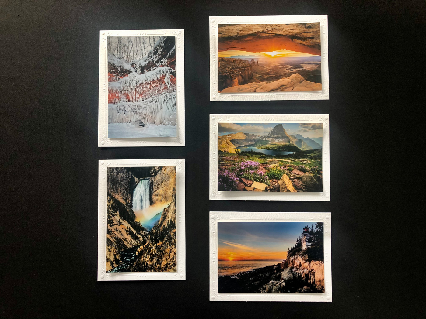 Limited Time Special: 5 Pack Note Cards- National Parks #3