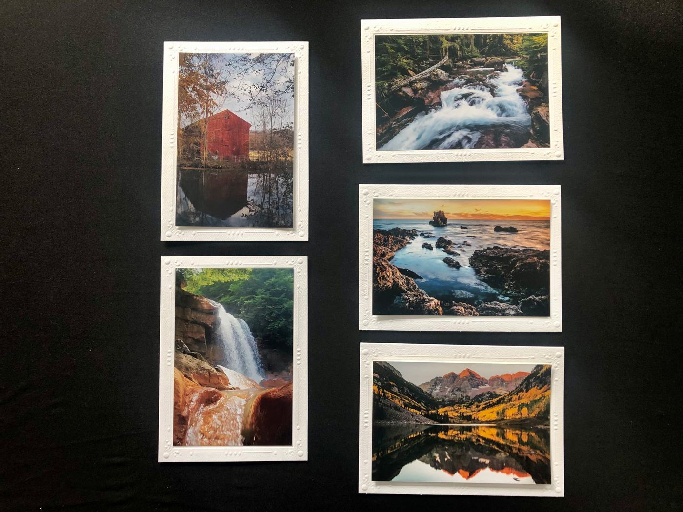 Limited Time Special: 5 Pack Note Cards- Scenic U.S. #2