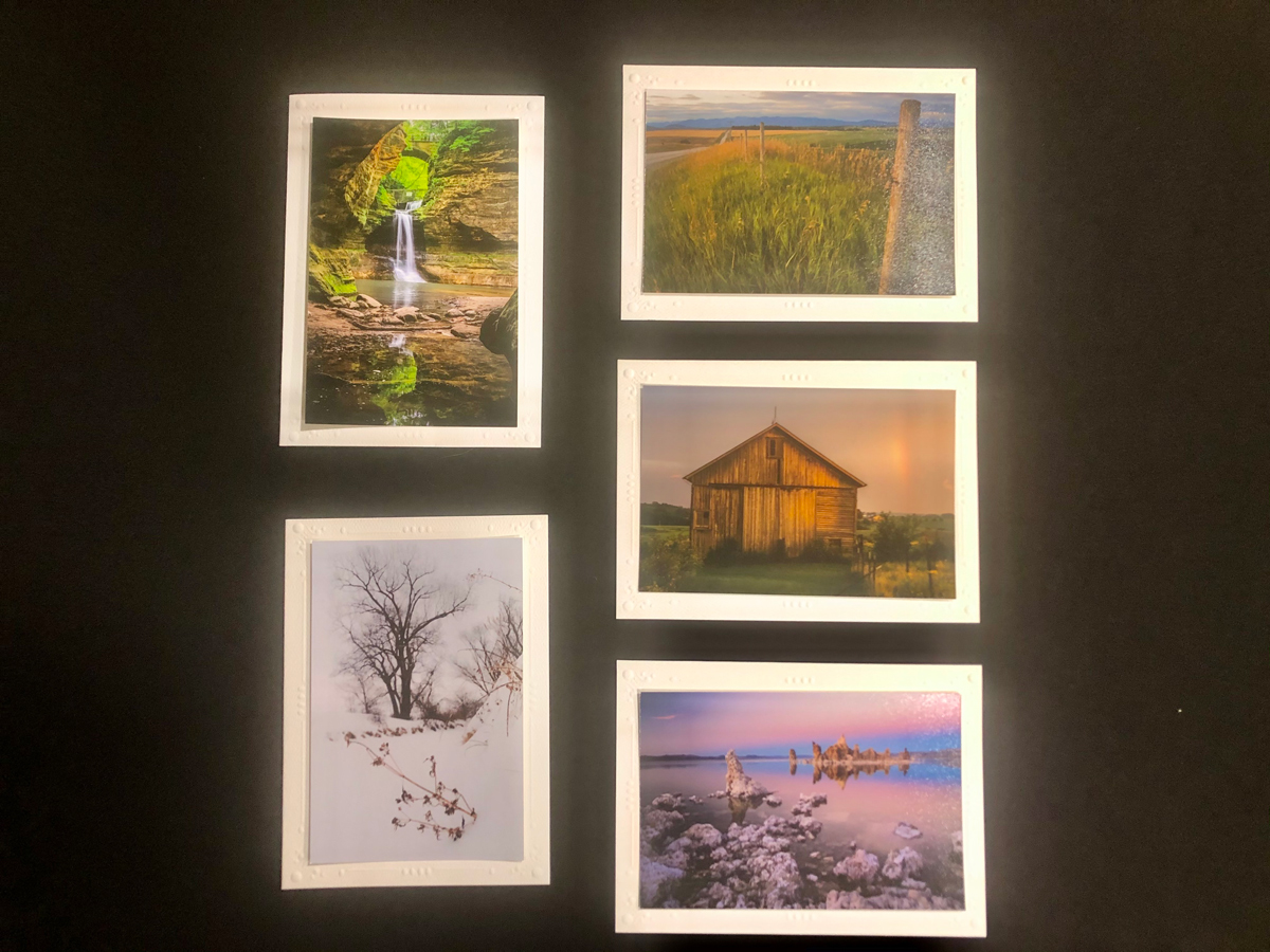 Limited Time Special: 5 Pack Note Cards- Scenic U.S. #3