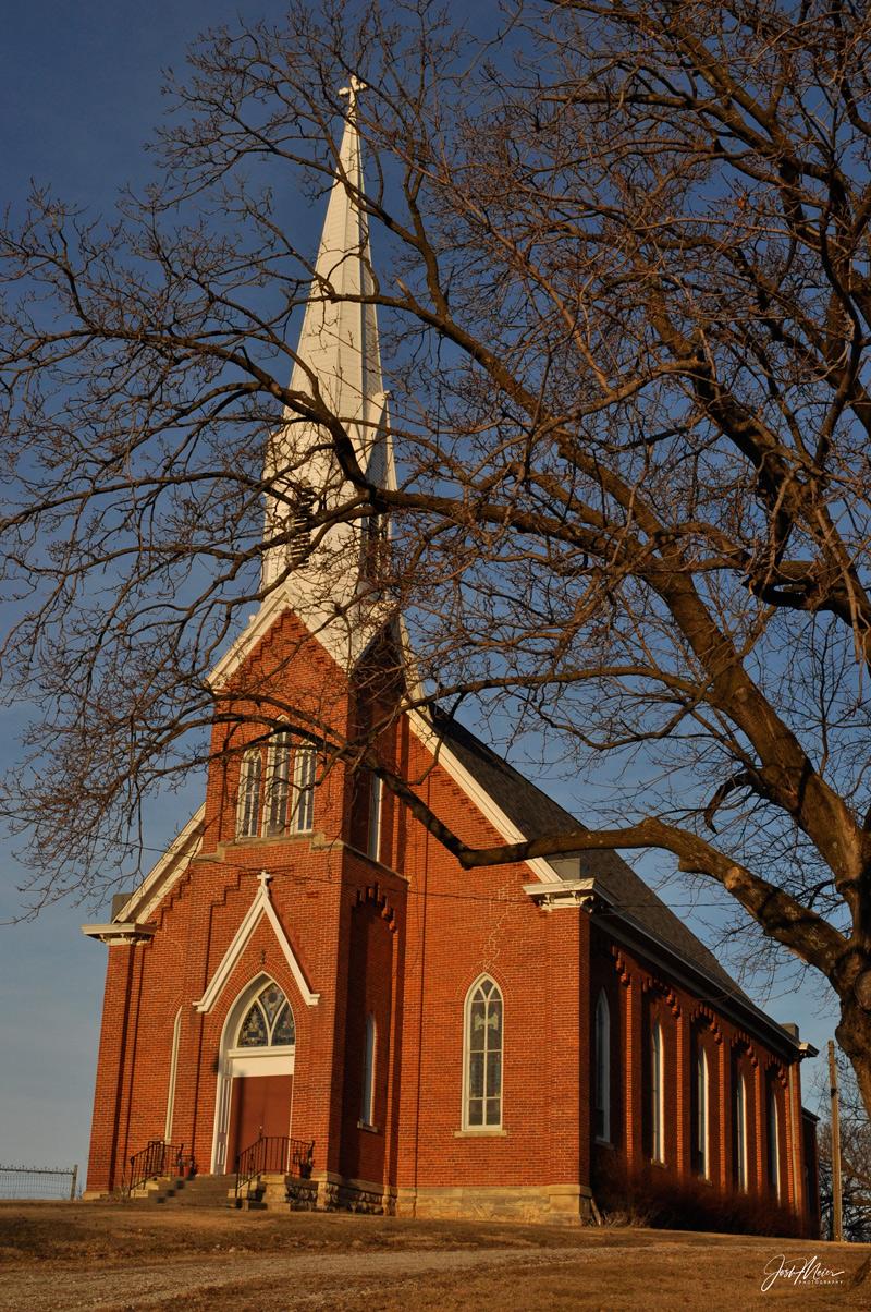 St. Bridget, Church, Solon, Iowa, Johnson County, photo