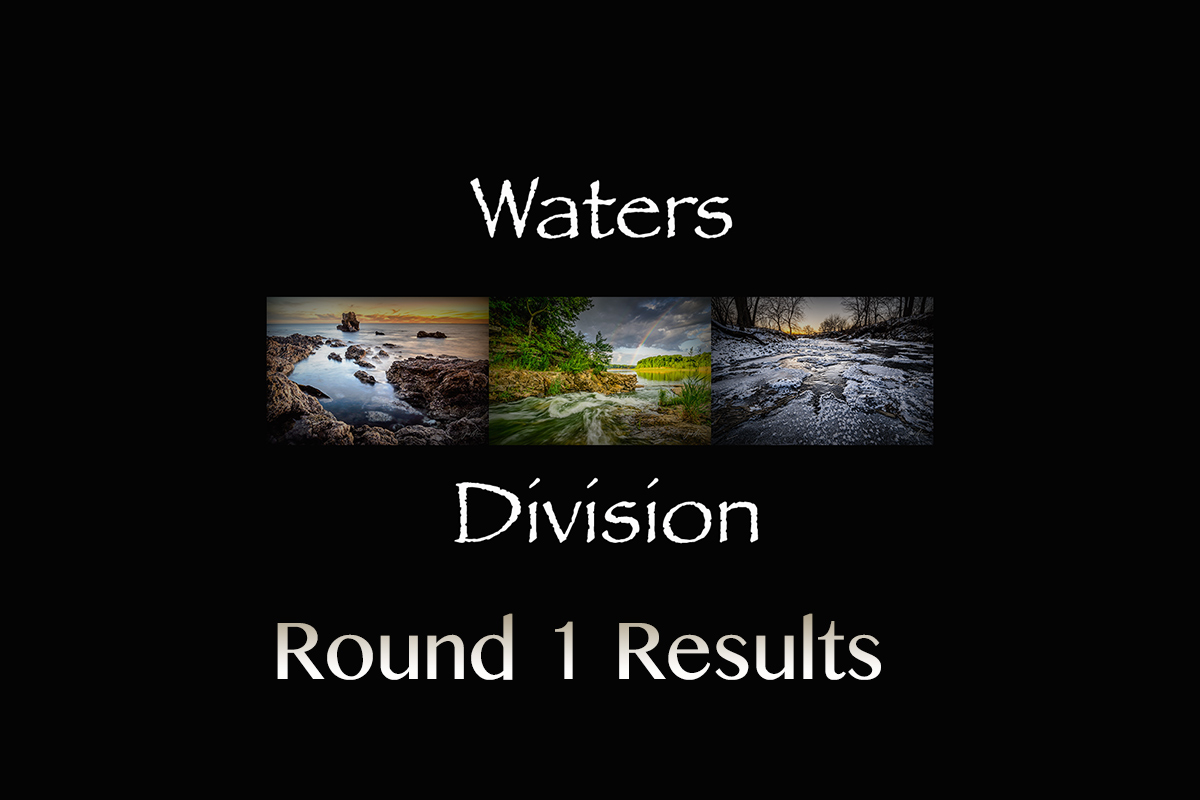 Round 1 Water Results
